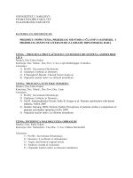 teme za završni rad - Stomatološki Fakultet sa Klinikama Sarajevo