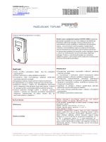 Tehnička specifikacija - Thermo-mark