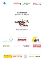 Startliste Aargauer sCOOL