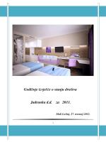Godišnje izvješće o stanju društva Jadranka d.d. za 2011.
