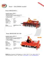 freze MASCHIO W-145