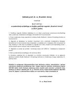 Zaklada prof. dr. sc. Branimir Jernej