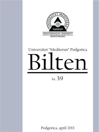 br.39 - Univerzitet Mediteran