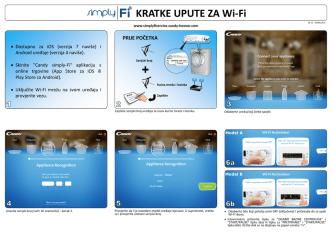 daljinsko upravljanje putem smartphone ili tableta pomoću
