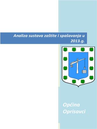 Analiza sustava zaštite i spašavanja u 2013.g.