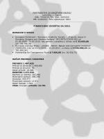 Financijski izvještaj za 2010. godinu