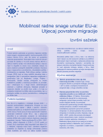 Mobilnost radne snage unutar EU-a: Utjecaj povratne