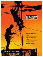 Katalog Specijalna oprema za rad na visinama - magus