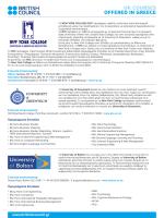 New York College - British Council