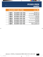 Regulatori tlaka plina TIP RTP-1