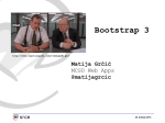 Bootstrap 3 - Sistemac.srce.hr