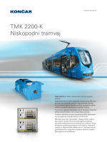 TMK 2200-K Niskopodni tramvaj