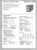 Softstarter – kompaktna izvedba MSG