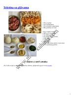 Teletina sa gljivama recept by Kuhar - Moja