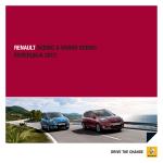 renault scenic & grand scenic колекција 2012