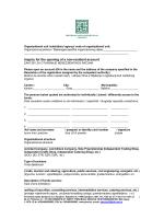 zahtjev za otvaranje nerezidentnog računa