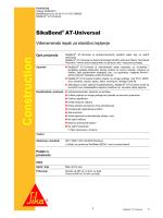 SikaBond ® AT-Universal