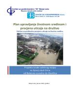 Plan upravljanja životnom sredinom i procjena uticaja