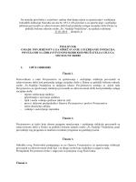 Poslovnik o radu Povjerenstva za bolničke infekcije