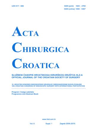 10. hrvatski kongres endoskopske kirurgije