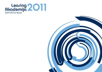 Brošura LEASING AKADEMIJA 2011