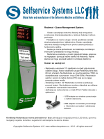 Redomat - Queue Management System: Sustav se sastoji od: