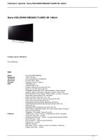 Sony KDL55W815BSAE2 FullHD 3D 140cm