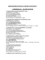 Popis međunarodnih Eko-škola iz Republike Hrvatske
