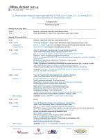 11. međunarodni simpozij i sajam opreme MINE ACTION 2014