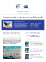 Traumatologija u veterinarskoj medicini 2. dio - VET