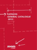 Katalog General cataloGue 2012