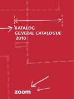 Katalog General cataloGue 2010