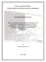 Μοντελοποίηση διαδικασιών συντήρησης και προμήθειας υλικών