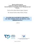 water management strategy of the federation of bosnia and