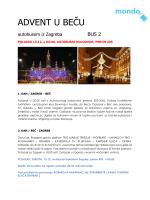 ADVENT U BEČU - Mondo Travel