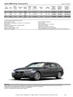 Cjenik BMW Serije 3 touring (F31)