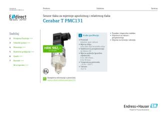 Cerabar T PMC131 (PDF 2,4 MB) - E-direct