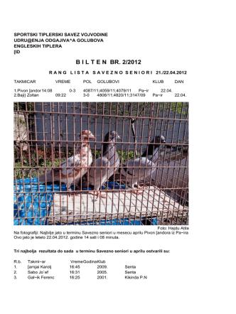 B I L T E N  BR. 2/2012