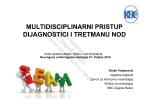 potreba za multidisciplinarnim pristupom dijagnostike i tretmana