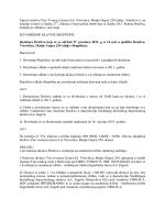 Poziv na Glavnu skupštinu - VIRO šećerana Virovitica
