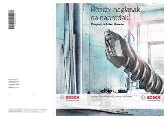 Bosch: naglasak na napredak.