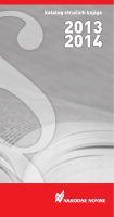 katalog nn 2013.indd - E-trgovina Narodnih novina dd