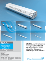 LSZH (Low Smoke Zero Halogen ) multiduct