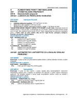 A ALIMENTARNI TRAKT I METABOLIZAM A01