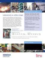 Velika snaga HR_A4 letak.cdr - Končar Institut za elektrotehniku dd
