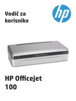 HP Officejet 100 Mobile Printer L411 User Guide