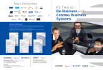 It`s Time to Do Business with Cosmos Business Systems