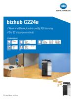 Brošura bizhub C224e, PDF