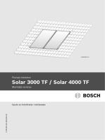 Solar 3000 TF / Solar 4000 TF