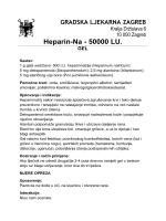 Heparin-Na - 50000 LU. GEL